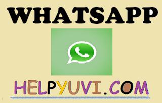 whatsapp ki jankari hindi me
