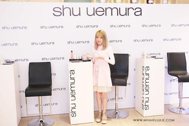Event Report-Shu uemura Makeup Event
