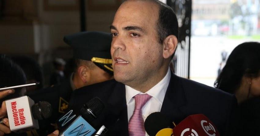 Fernando Zavala pide sustentar este jueves la cuestión de confianza ante el Congreso de la República