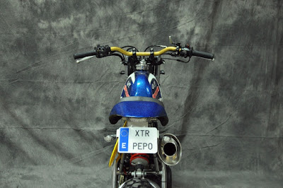 Yamaha SR 250 Speed Tracker