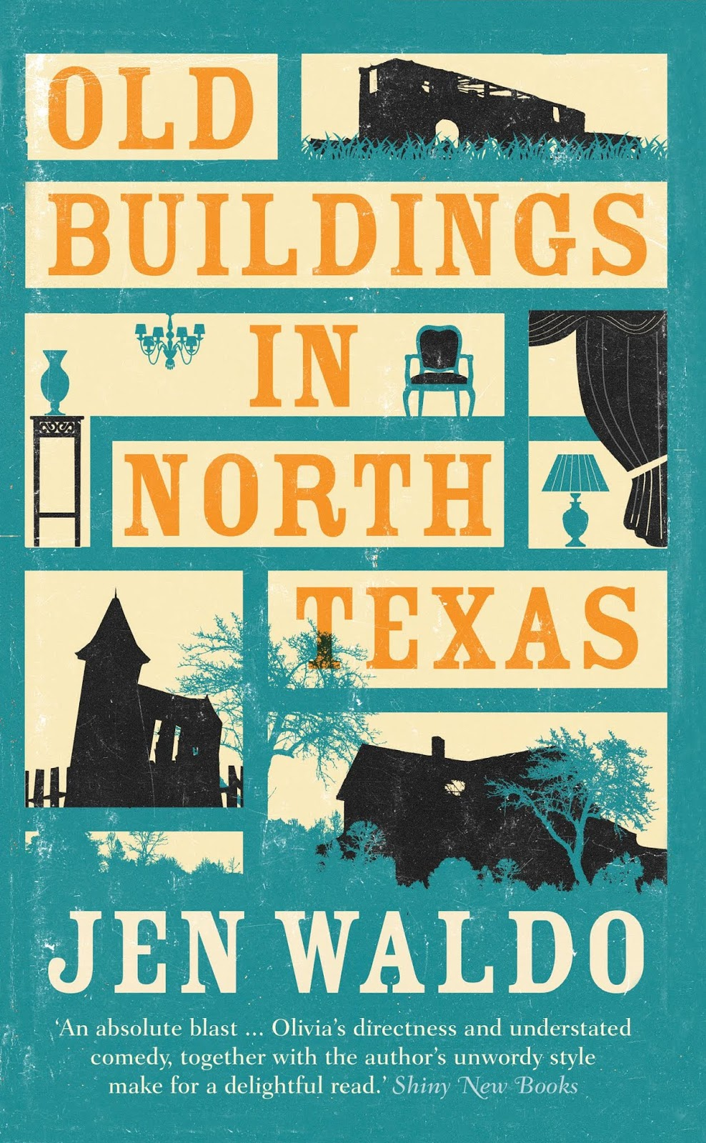 Old Buildings in North Texas book cover
