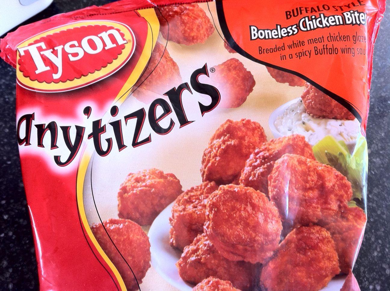 Tyson boneless chicken wings