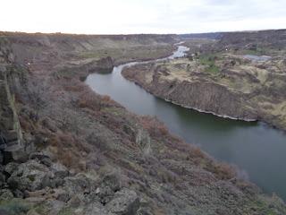Snake River at Twin Falls, Idaho