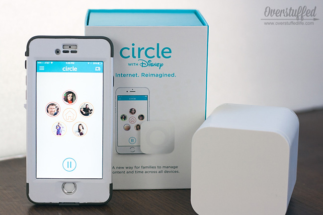 The circle with disney can help limit screen time