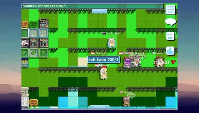 Cara Membuat Grass di Growtopia