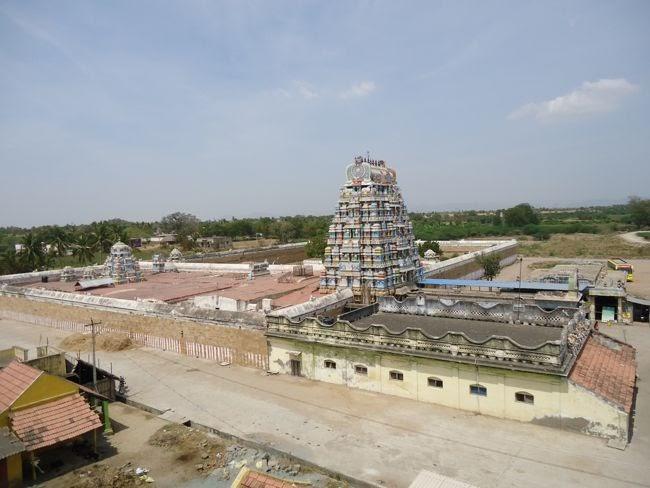 Aerial View Of Brahmapureeswarar Temple