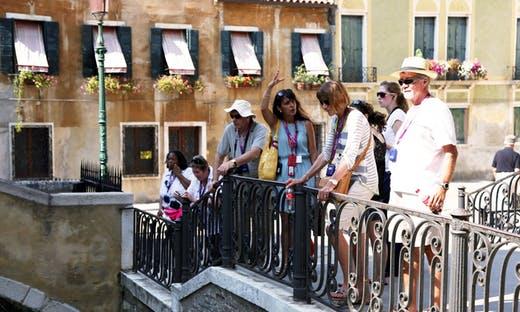 Informações sobre ingressos para o tour a pé por Veneza