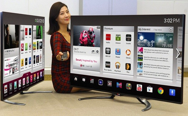 LG Google TV Will Come With New Sizes And Features In 2013