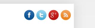 Βαζουμε social buttons στο blog μας