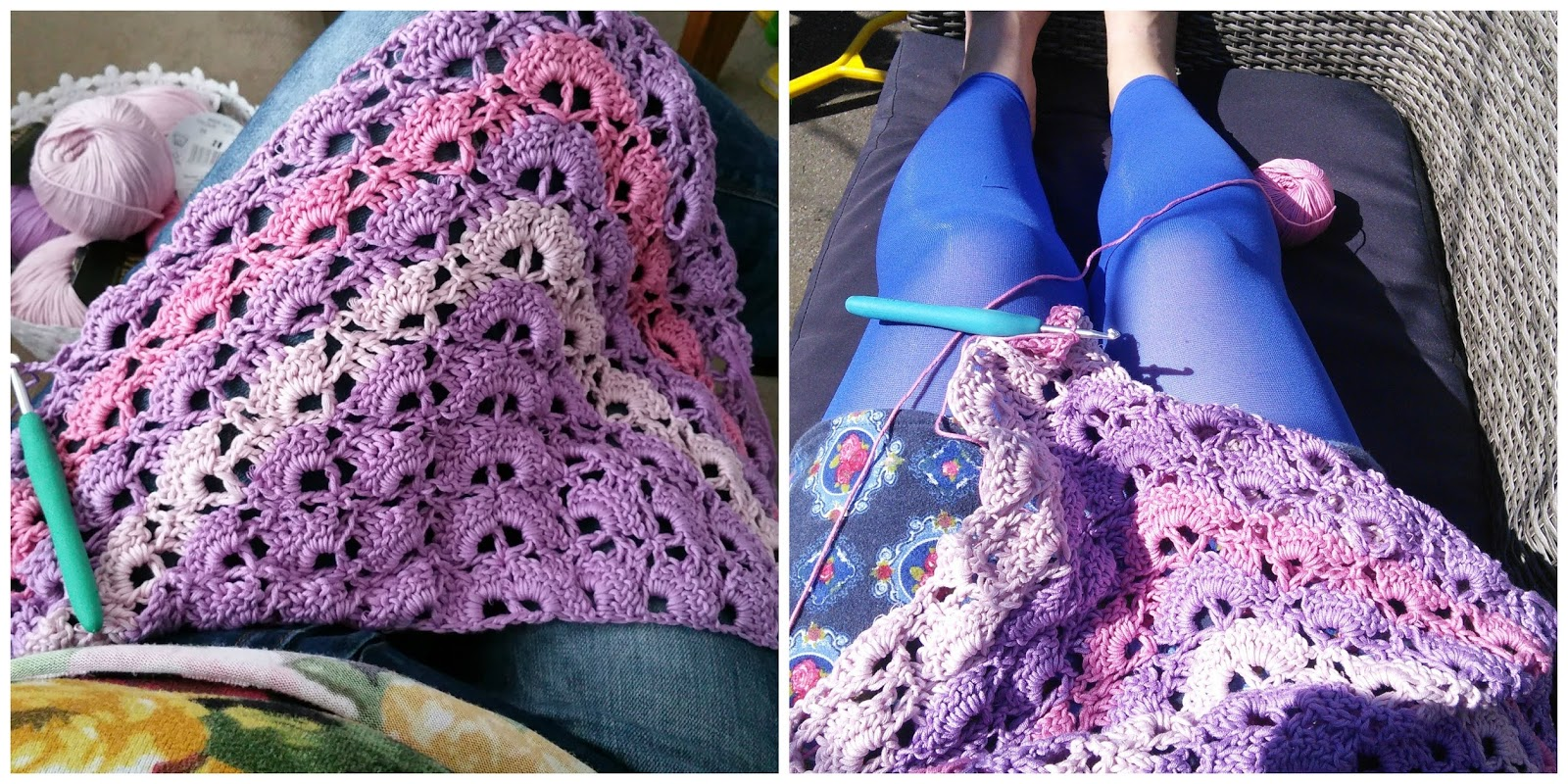 Crochet Addict Meivakantie Southbay Sjaal En Nieuwe Project