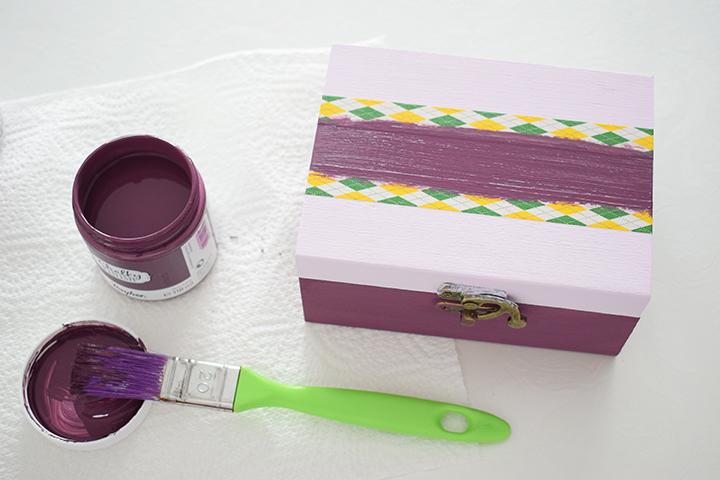 Étape 2 - DIY customisation d'une boîte à thé
