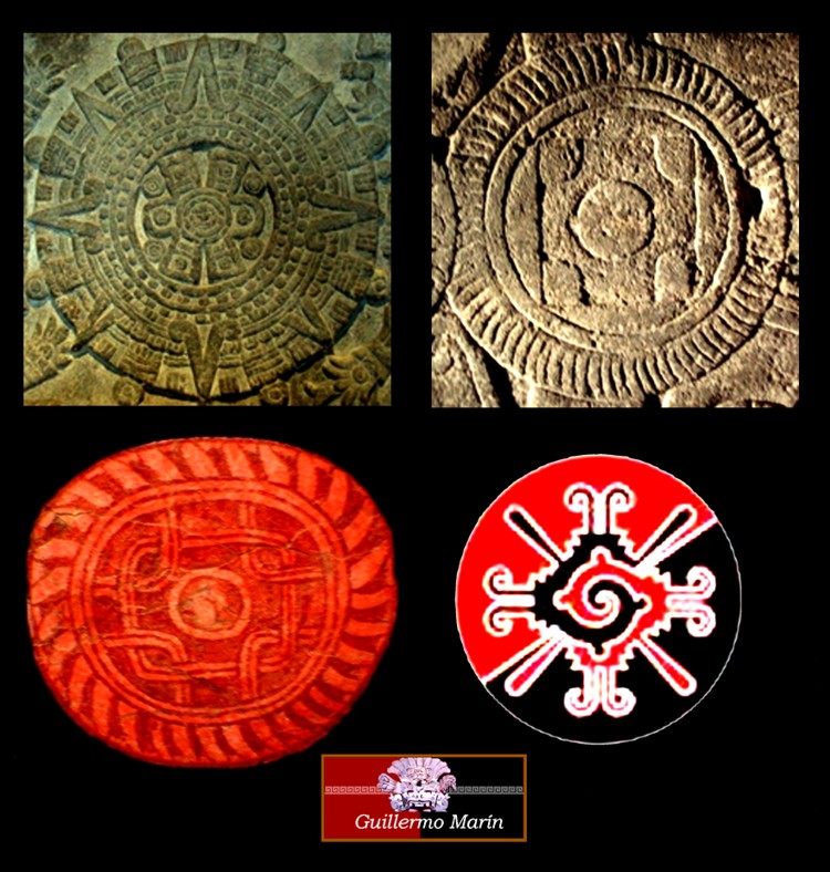 The three knowledge circles of ancient México