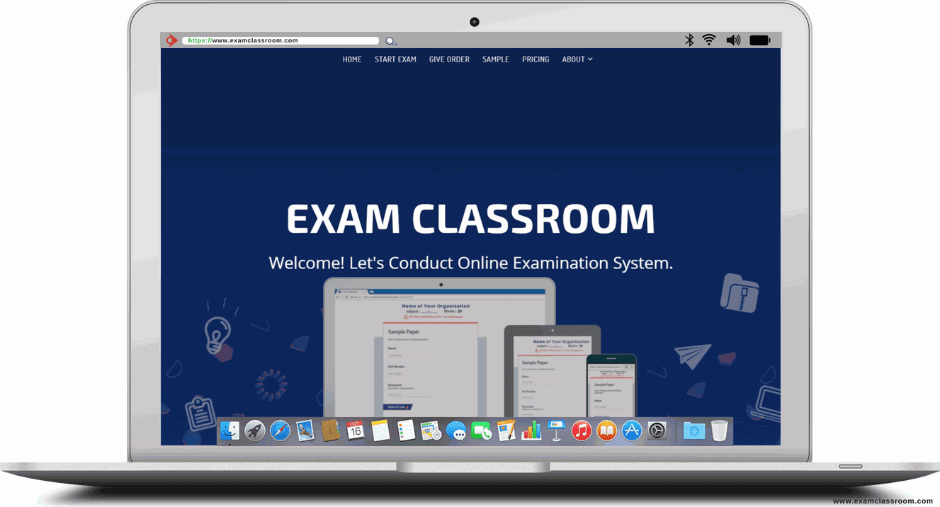 online examination system, create test online, online test examination