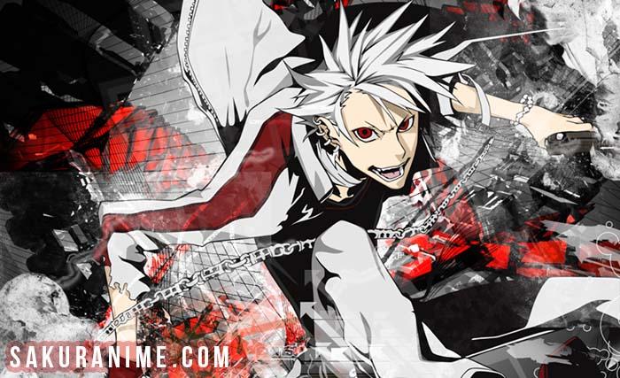 Anime Girl Rambut Putih Otaku Wallpaper