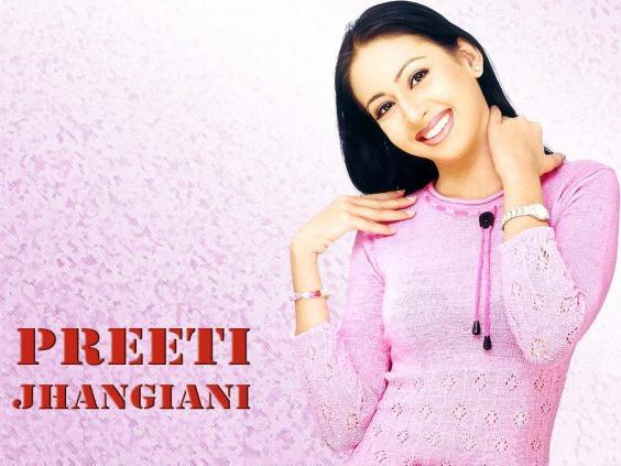 Actress Preeti Jhangiani Hot In Bikini Full HD Wallpaper