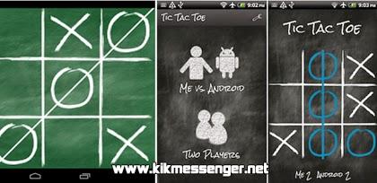 Juega Tic Tac Toc con tus amigos de Kik