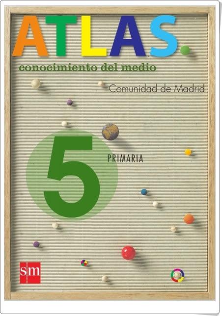 """""""Atlas de la Comunidad de Madrid. SM."""" (5º Nivel de Primaria)"""