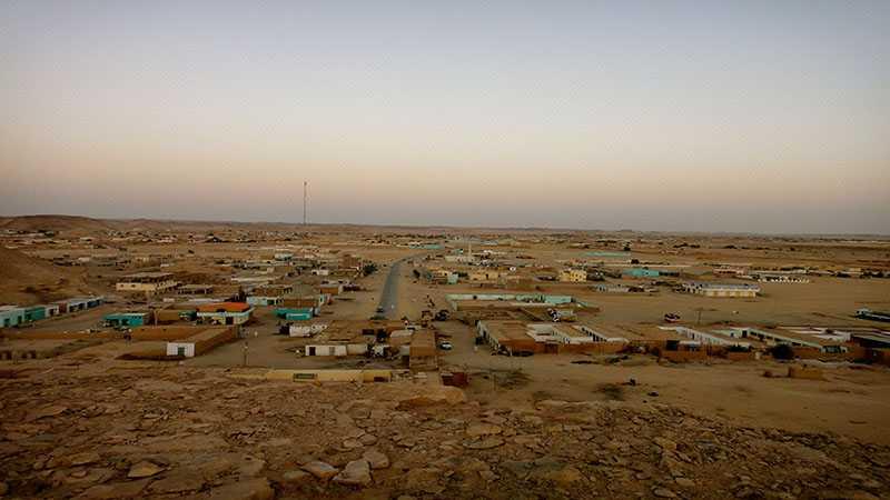 Tempat terpanas - wadi halfa