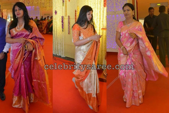 Celebrities Grand Silk Saris