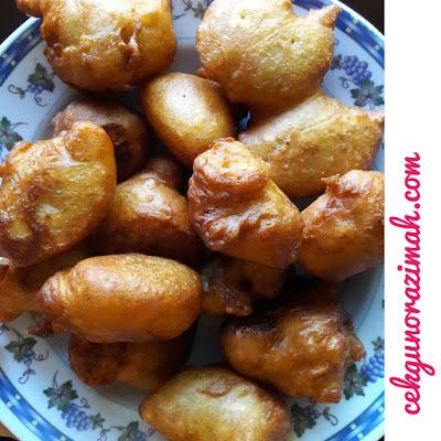 tips cucur lembut, tips menjadikan cucur lembut, cara membuat cucur lembut dan gebu, tips cucur gebu, cucur pisang gebu