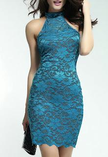 Halter-Neck-laces-dress