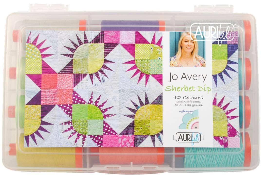 My Aurifil Thread Collection