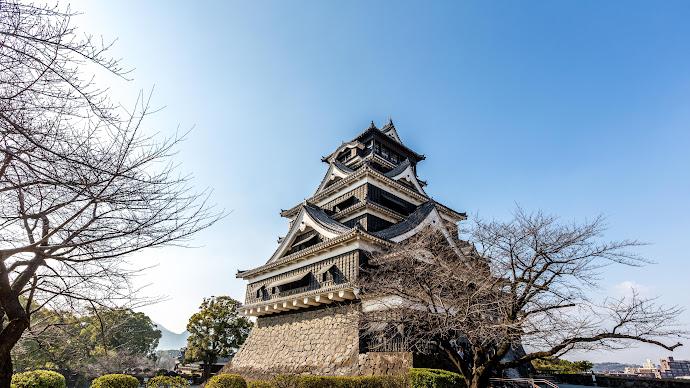 Wallpaper: Kumamoto Castle