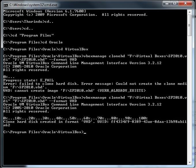 Tharindu Gunaratne's blog: Convert Virtual Box in to VHD and