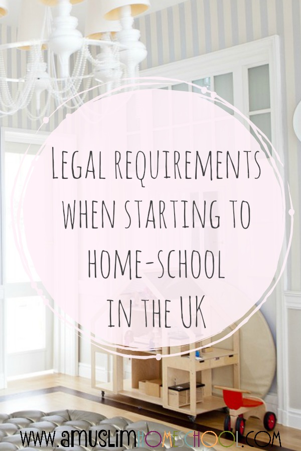 Home schooling in the UK and the law