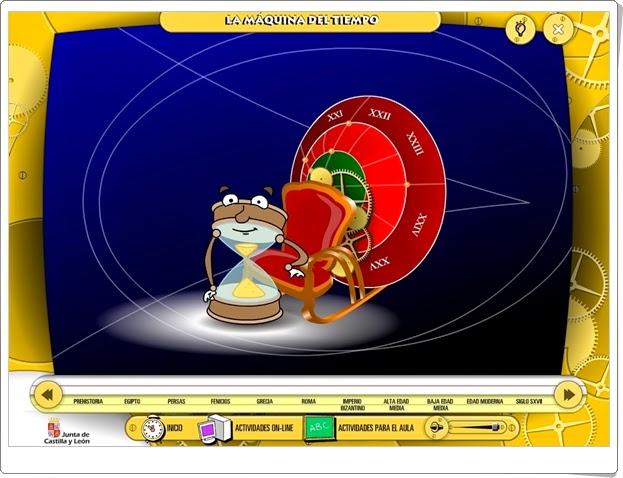 """""""La Máquina del Tiempo"""" (Aplicación interactiva de Historia)"""