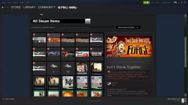 Akun Steam Gratis
