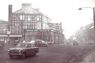 Cleveland Car Co Ltd - corner Grange Road and West Street 1960's