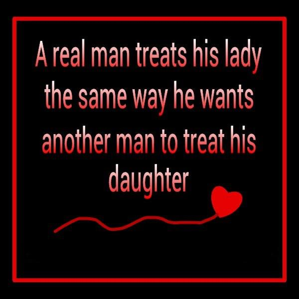 a real woman treats her man quotes - photo #5