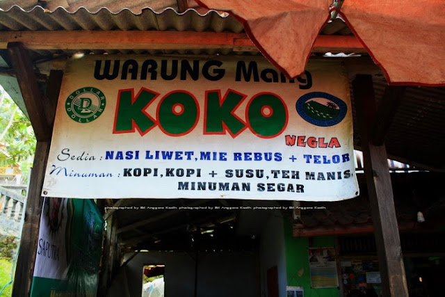 Warung Mang Koko di ujung jalan