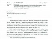 Pembukaan Kembali Penerimaan TKHI Dokter 2017