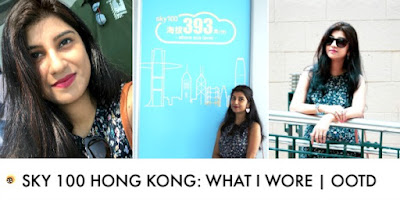 Check what Anamika Chattopadhyaya wore to Sky 100 Hong Kong/ her comfortable travel outfit style