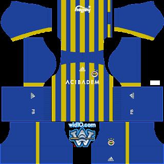 Fenerbahçe Fantastik Forma kit dls fts logo