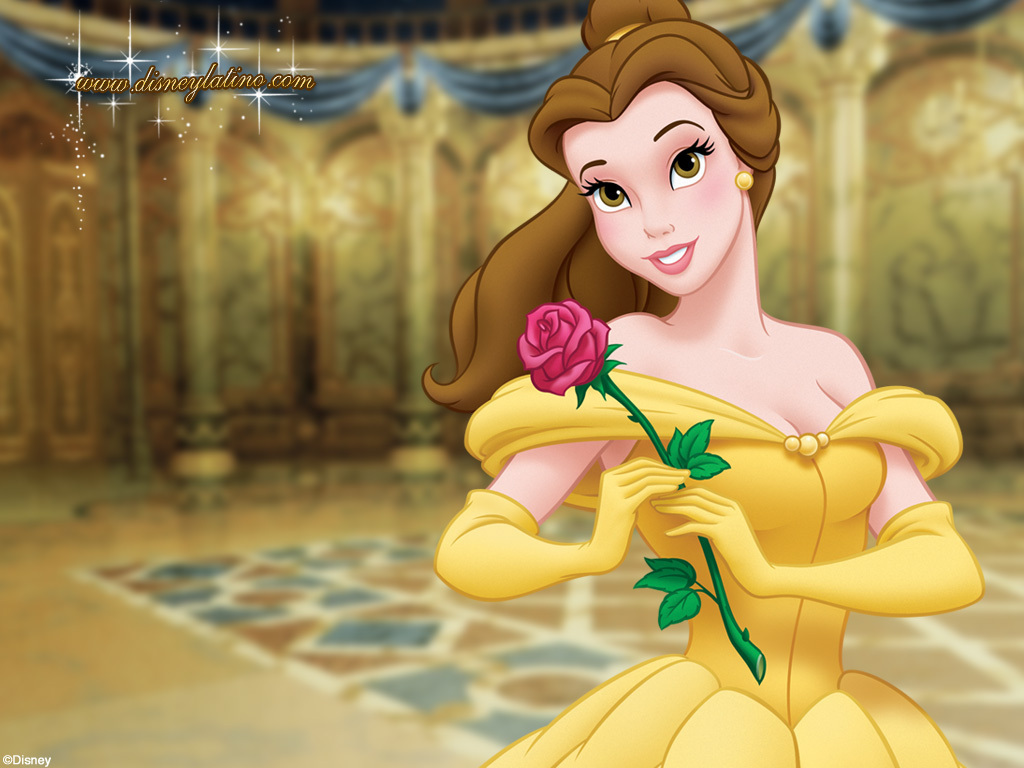 """Beauty And The Beast Cartoon Wallpaper: Beauty And The Beast """"Belle"""" Halloween Tutorial"""