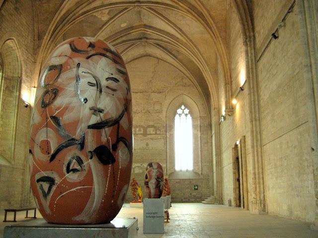 Inside Le Palais des Papes Avignon