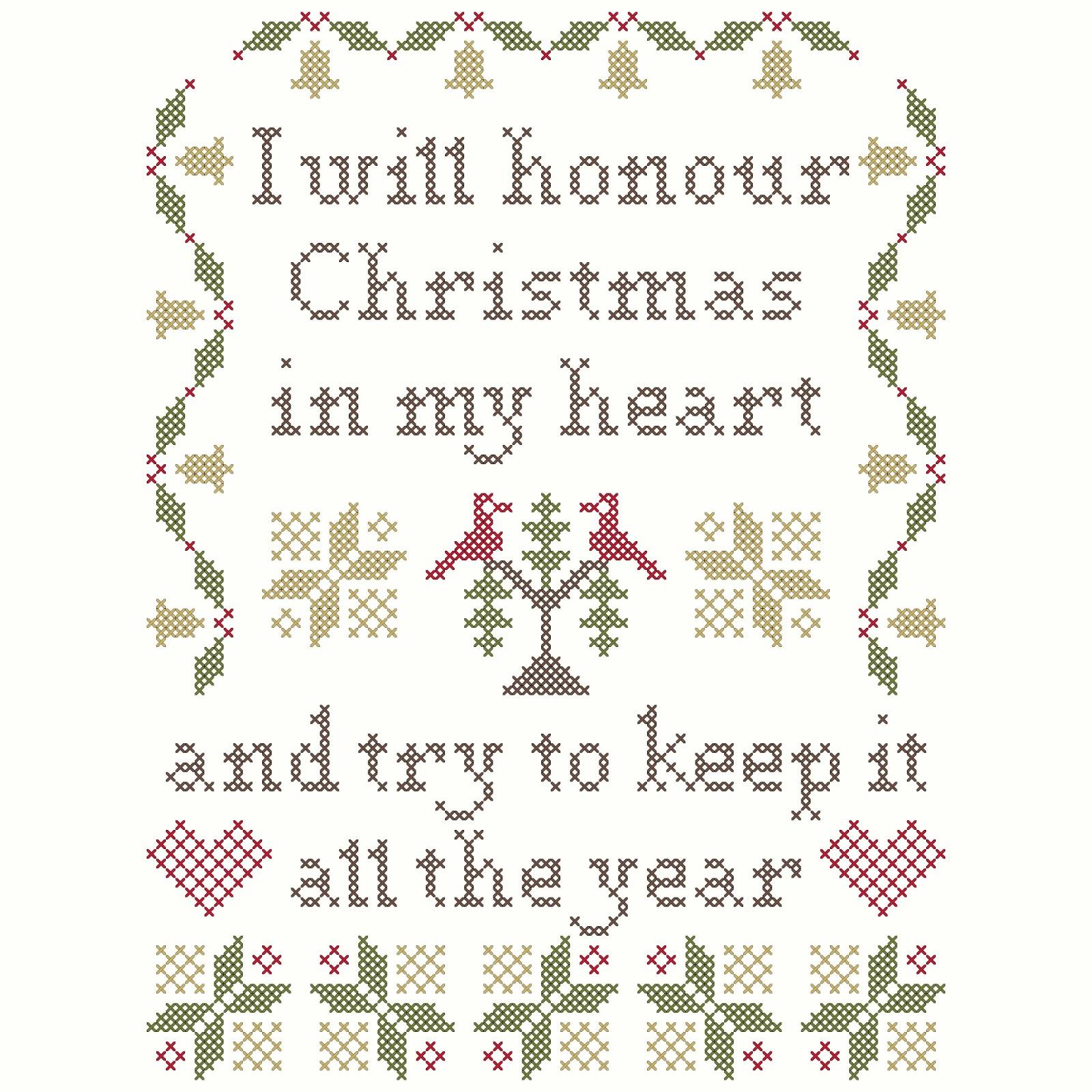 Be Kind Always Heartstring Samplery Cross Stitch Pattern