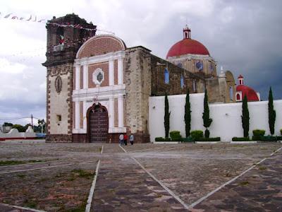 iglesia tetla tlaxcala pueblo