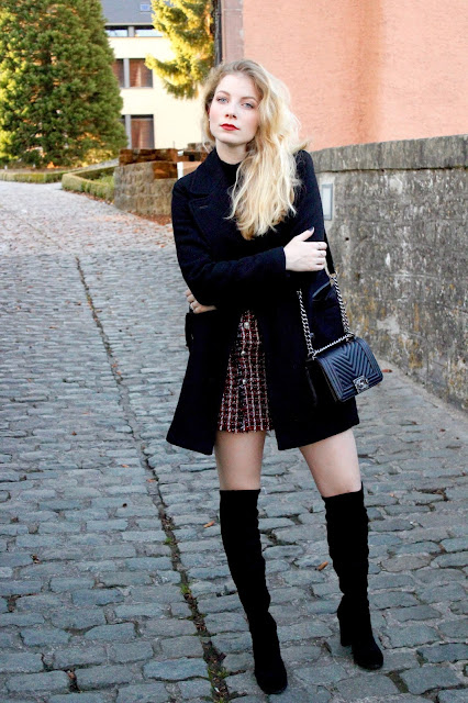 Short Skirt, Long Jacket | Mersch, Luxembourg - The Ivory Diary