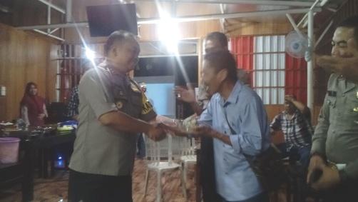 HPN 2019, Kapolres Kep. Selayar, Ajak Insan Pers Perangi Hoaks