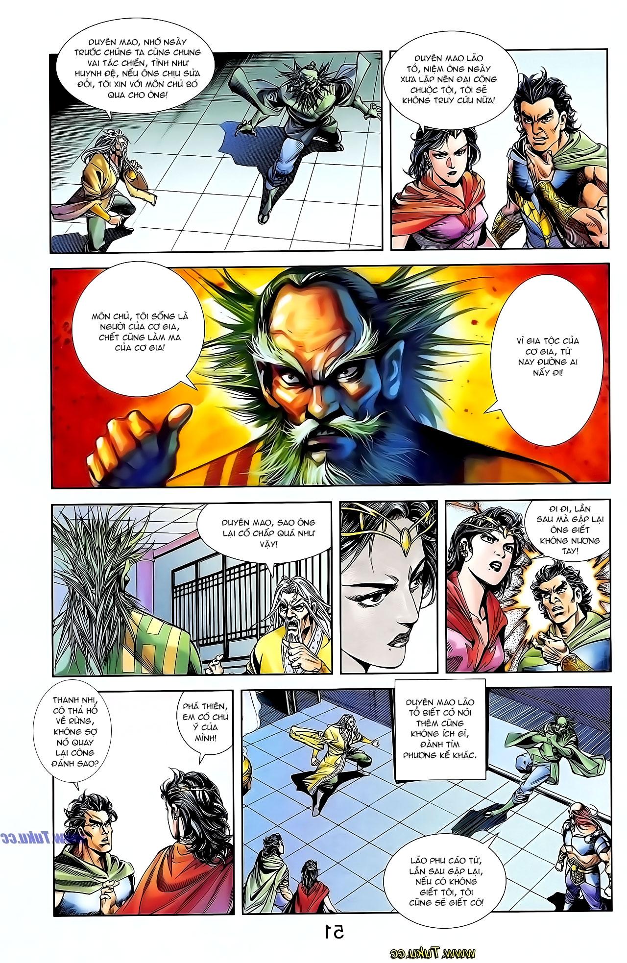 Cơ Phát Khai Chu Bản chapter 127 trang 10
