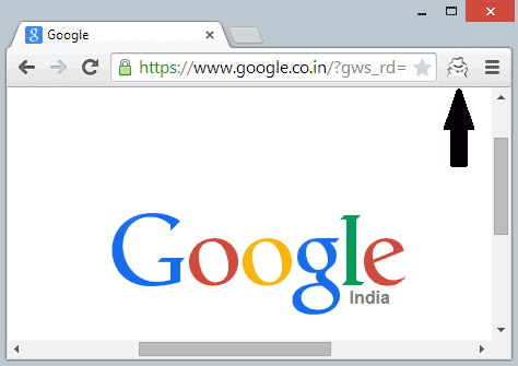 Switch Chrome Tab between Incognito & Normal Mode