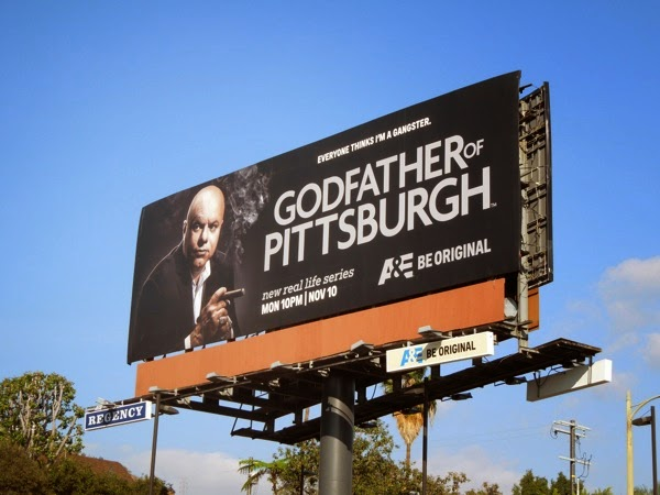 Godfather of Pittsburgh series premiere billboard
