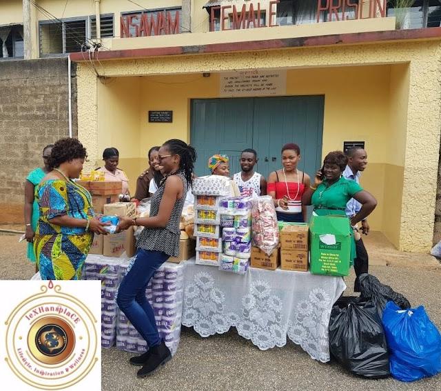 mildred menkiti at the Nsawam Female Prisons, Nsawam, Ghana 3