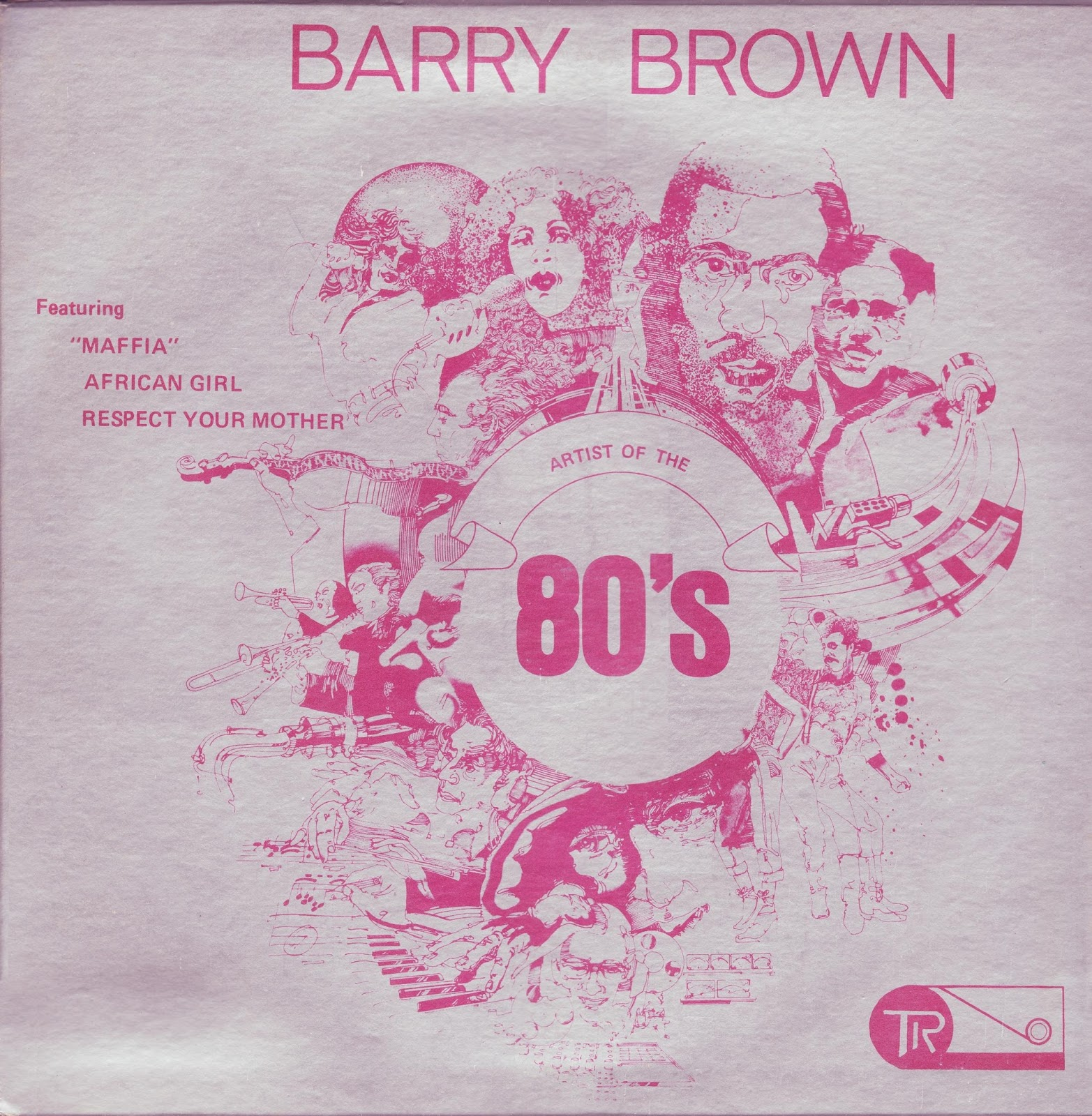Barry Brown Maffia Artist Of The 80s