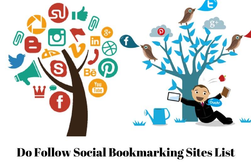High DA Do Follow Social Bookmarking Sites List 2019