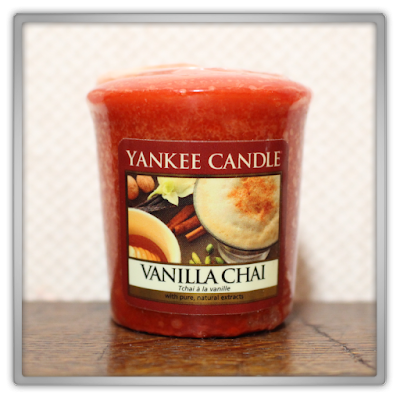 Yankee Candle haul review Autumn vanilla chai tea votive